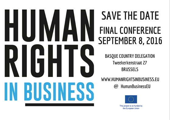 SAVE THE DATE.HRB FINAL CONFERENCE